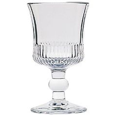 @Overstock - Bring some European elegance to your dining experience with this frosted wine glass set. Each wine glass has been lovingly crafted in France and boasts a classic Richelieu design. This set is ideal for serving your favorite bottle at a dinner party.http://www.overstock.com/Home-Garden/La-Rochere-Richelieu-6-piece-Footed-Wine-Glass-Set/4122602/product.html?CID=214117 $41.99