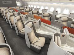 This page offers you information about Premium Class Seats Airplane Interior, Airplane Design, Luxury Jets, Luxury Private Jets, Private Jet Interior, Airplane Seats, Urban Design Concept, Aircraft Interiors, Design Logo