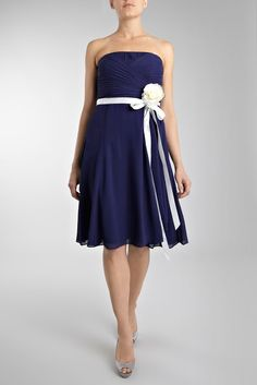 Like the dress, but in yellow and purple, or gray and yellow.