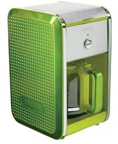Bella Dots Coffee Maker Lime Green