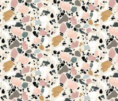 terrazo flooring Terrazzo Postcard by Sylvia Takken Surface Pattern Design, Pattern Art, Abstract Pattern, Marble Pattern, Pastel Pattern, Colour Pattern, Do It Yourself Inspiration, Color Inspiration, Textures Patterns
