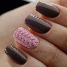 Нетипичный Маникюр Christmas Nail Designs, Christmas Nails, Christmas Fun, Sweater Nails, Autumn Nails, Nail Tech, Pedi, Beauty Hacks, Beauty Tips