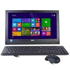Dell i3043-1250BLK 19.5 Celeron N2830 Dual-Core 2.16Hz All-in-One PC - 4GB/500GB/DVD±RW/W8.1/Webcam - B