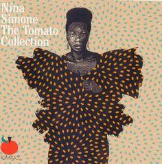 Milton Glaser, cover artwork for Nina Simone, 1994. Tomato Records.