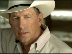 Still a hottie after all these years ♥ ♥ S M O K I N George Strait - Troubadour  (ooooh child!)