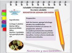 Saludable 3.0 Nutrición & Movimiento: RECETARIO SALUDABLE