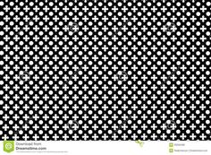 Crosses and circles pattern