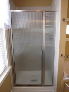 Framed Shower Door Remodeling Pinterest Shower Doors Doors - Bathroom shower door repair