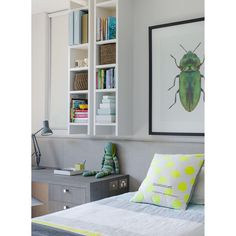 Instagram regram: bedroom, bug art