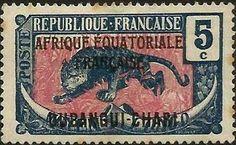 Oubangi-Chari–Chad 5¢