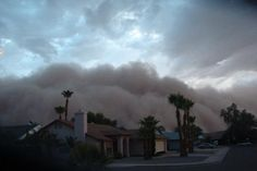 Modern dust storms.  How similar are they to the Dust Bowl storms?
