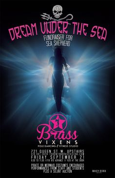 banner/poster/ticket idea if we do under the sea. Sea Shepherd, Prom Themes, Pole Dancing Fitness, Silent Auction, Fitness Studio, Theme Ideas, Under The Sea, Fundraising, Underwater