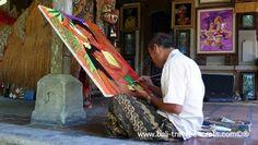 local Ubud artist