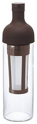 Brand New Hario Filter-In Coffe Bottle 650m Chocolate Brown