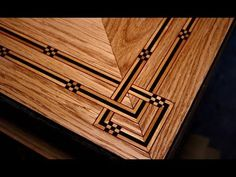 How To Inlay A Table Top (Coffee Table Part 4) - SE Woodwork - YouTube