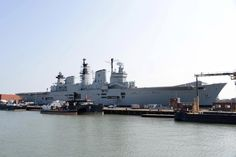 Royal Navy's former flagship HMS Illustrious to be flogged for scrap in million deal Hms Illustrious, Royal Navy Aircraft Carriers, Hms Ark Royal, Portsmouth, Britain, New York Skyline, Military, History, World