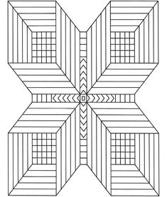 Optical Illusion Coloring Pages Printable - Enjoy Coloring ...