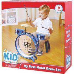 My First Metal Drum Set