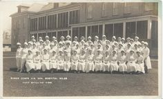 Fort Snelling MN, Nurse corps U.S. Gen. Hospital No 29, Real Photo Post Card