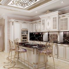 With these exquisite luxury kitchens on display below, we are sure that you will build a beautiful spot in your home. A kitchen is the heart of a your home and must look aesthetic and functional. Besides being comfortable from… Continue Reading → Kitchen Furniture, Kitchen Design Styles, Home, Luxury, Kitchen Remodel, Luxury Interior Design, Modern Kitchen Design, Best Kitchen Designs, Luxury Kitchen Design