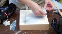 Encaustic Workshop with Francesca Azzara / Fusing & Collage Part 1
