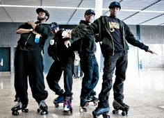 High Rollaz – Roller Skating Troupe | www.contrabandevents.com