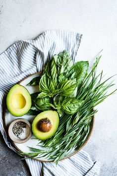 Avocado and Herbs