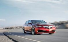 Acura TLX Concept Red 2014