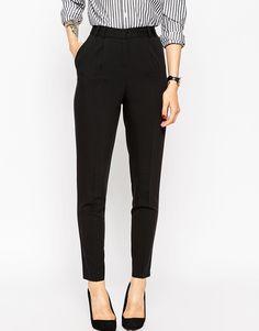 Image 2 - ASOS - Pantalon droit à taille haute