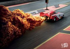 Clever KFC Ads Perfectly Replaced Fire With Spicy Fried Chicken – Adweek