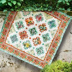 Cottage Garden Quilt from Alice HIckey's Cottage Garden collection