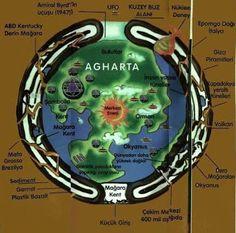 Proof of Agartha Ancient Aliens, Ancient History, Ancient Art, Atlantis, Nasa, Hollow Earth, Sumerian, Alternate History, Flat Earth