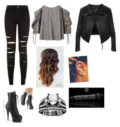 """Untitled #945"" by catrinel-grigorescu on Polyvore featuring New Look and Linea Pelle"