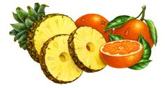 ananas Tangerine