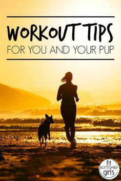 Don't forget, your pup needs a regular work out just as much as you do!