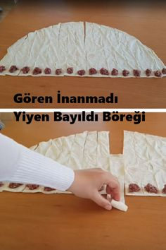 Pin by ct on akşam yemekleri Easy Appetizer Recipes, Dessert Recipes, Homemade Beauty Products, Make Money Blogging, Mom Blogs, Bread Baking, Food Art, Bakery, Food And Drink
