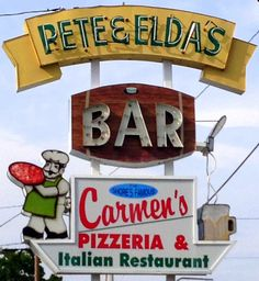 Pete and Elda's Bar & Carmen's Pizzeria and Italian Restaurant – The Best Thin-Crust Pizza on the Jersey Shore!
