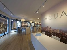 Aqua Apartments Sales Display NSW - DC8 Studio Apartments, Conference Room, Aqua, Interiors, Display, Interior Design, Studio, Table, Projects