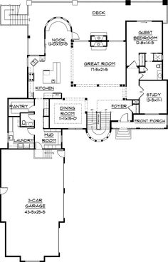 Luxury Home Amenities ransford european luxury home | plan front, walkout basement and