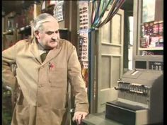 open all hours Ronnie Barker, Open All Hours, Are You Being Served, Only Fools And Horses, 80s Tv, Classic Comedies, British Comedy, Vintage Tv