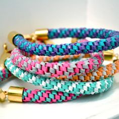 grown-up gimp bracelets -- we're doing this during Me-Time Crafts at the 2013 #gsgreatescape!