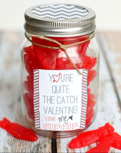 Michael's Cookie Jar Valentine's Cookie Jar Gift  Cute And Simplefree Prints On