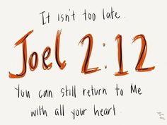 Yoel 2:12