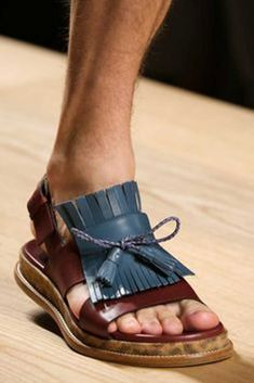 d2ca8cf0c0026 Men s Sandals from 2015 Spring Collection by Salvatore Ferragamo Oldschool