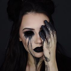Witch Halloween Makeup Looks, Styles, Ideas & Trends 2019 - Idea Halloween - Witch Halloween Makeup Looks, Styles, Ideas & Trends 2019 – Idea Halloween - Emotional Photography, Dark Photography, Artistic Photography, Creative Photography, Amazing Photography, Portrait Photography, Halloween Makeup Looks, Halloween Make Up, Costume Halloween