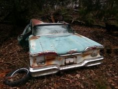 Ford's son..... Edsel Another dying Edsel....so sad!