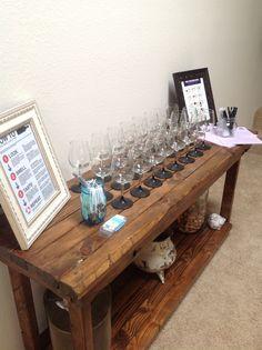Wine tasting party I had!