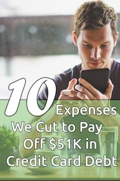 10 expenses we cut to pay off $51K in credit card debt
