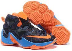separation shoes 74a23 b43ab Buy 2016 Nike Mens Basketball Lebron 13 Blue Black Red Orange For Sale from  Reliable 2016 Nike Mens Basketball Lebron 13 Blue Black Red Orange For Sale  ...