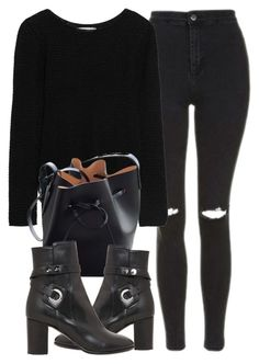"""""""Untitled #6901"""" by laurenmboot ❤ liked on Polyvore featuring Topshop, Kain, Mansur Gavriel and Isabel Marant"""